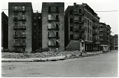view Mel Rosenthal Photoprints digital asset: Abandoned buildings, reproduced in book, pp. 2-3. 2