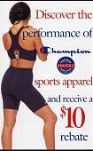 view Champion Jogbra (sporting goods, targeting female teens) digital asset: Champion Jogbra (sporting goods, targeting female teens)
