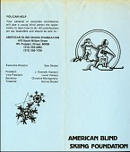 view Division of Medicine and Science Disability Reference Collection digital asset: American Blind Skiing Foundation