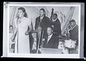 view H-611, Billie Holiday with Red Allen Band digital asset: H-611, Billie Holiday with Red Allen Band