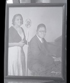 view H-153, Eva Taylor accompanying Clarence Williams digital asset: H-153, Eva Taylor accompanying Clarence Williams