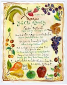 view Julia Child Award Winners Collection digital asset: Original menus
