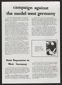 view Campaign Against the Model West Germany digital asset number 1