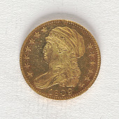 view 5 Dollars, United States, 1809 digital asset number 1