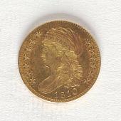 view 5 Dollars, United States, 1810 digital asset number 1