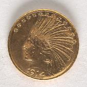 view 10 Dollars, United States, 1914 digital asset number 1