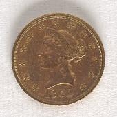 view 10 Dollars, United States, 1852 digital asset number 1