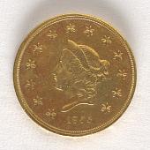 view 50 Dollars, United States, 1855 digital asset number 1