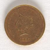 view 20 Dollars, United States, 1855 digital asset number 1