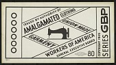 view Issued by authority of Amalgamated Clothing Workers of America digital asset number 1