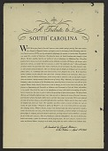 view A Tribute to South Carolina digital asset number 1