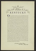 view A Tribute to Kentucky digital asset number 1