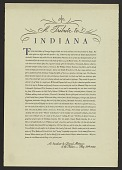 view A Tribute to Indiana digital asset number 1