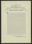 view A Tribute to Washington digital asset number 1