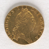 view 1 Spade Guinea, England, 1790 digital asset number 1