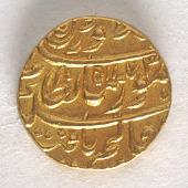 view 1 Mohur, Punjab, 1759 digital asset number 1