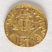 view 1 Solidus, Byzantine Empire, 698 - 705 digital asset number 1