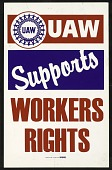 view UAW Supports Workers Rights digital asset number 1
