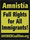 view Amnistia / Full Rights for All Immigrants! digital asset number 1