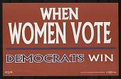 view When Women Vote Democrats Win digital asset number 1