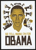 view Go Tell Mama! I'm For Obama digital asset number 1