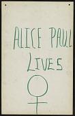 view Alice Paul Lives digital asset number 1