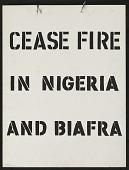 view Cease Fire in Nigeria digital asset number 1