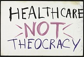 view Healthcare Not Theocracy digital asset number 1