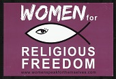view Women for Religious Freedom digital asset number 1