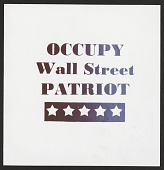 view Occupy Wall Street Patriot digital asset number 1