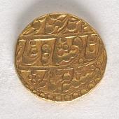 view 1 Mohur, Jaipur, 1844 - 1845 digital asset number 1
