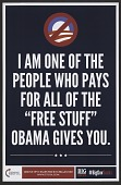 """view I Am One of the People Who Pays for all of the """"Free Stuff"""" Obama Gives You digital asset number 1"""