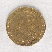view 1/2 Real D'or, Holland, ca 1590 digital asset number 1
