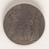 "view Commemoration Erection of Bridge ""Alexander III"" at Paris World Expostion digital asset number 1"