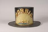 view Morris Hose Fire Hat digital asset: Morris Hose Parade Hat, front