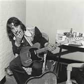 view Waylon Jennings digital asset: Waylon Jennings (1937-2002) rejected slick commercial conventions of the time and demanded more control of his music. His lifestyle personified what became known as the Outlaw Country movement.