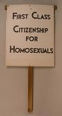 view First Class Citizenship For Homosexuals digital asset number 1