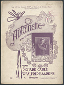 "view ""Antoinette"" Sheet Music digital asset number 1"