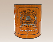 view Oyster Tin, Pride of the Chesapeake Brand digital asset number 1