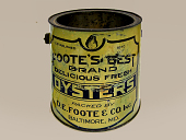 view Oyster Tin, Foote's Best Oysters digital asset number 1