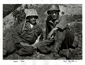 view Carl Mydans and David Douglas Duncan digital asset: Carl Mydans and David Douglas Duncan during the Korean War