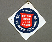view United War Work Campaign Pin digital asset number 1