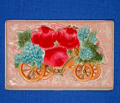 view Flower cart postcard digital asset: post card