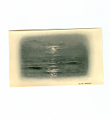 view No. 800 Moonlight digital asset: post card