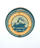 view Raymond Whitcomb Tours and Cruises digital asset: luggage tag