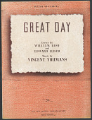 "view ""Great Day"" Sheet Music digital asset number 1"