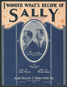"""view """"I Wonder What's Become of Sally"""" Sheet Music digital asset number 1"""