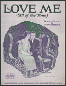 """view """"Love Me (All The Time)"""" Sheet Music digital asset number 1"""