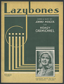 "view ""Lazybones"" Sheet Music digital asset number 1"