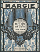 "view ""Margie"" Sheet Music digital asset number 1"
